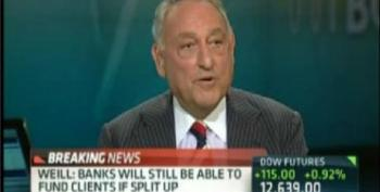 Sanford Weill: Maybe It's Time To Break Up The Big Banks