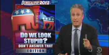 Jon Stewart Rips Up Fox And Romney For Out Of Context Attacks