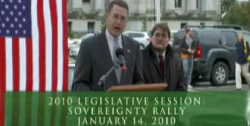 Washington Republican Rep. Matt Shea Touts Far-Right 'State Sovereignty' Legislation