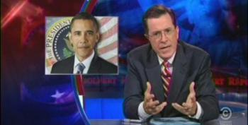 Colbert 'Defends' Romney Campaign 'Anglo-Saxon' Remark