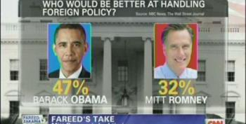 Zakaria: Romney Picked Bad Time To Attack Obama's Foreign Policy