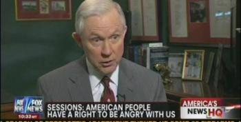 Jeff Sessions Makes Excuses For Republicans Refusing To Pass Middle Class Tax Cuts