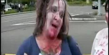 Zombies Take On Westboro Anti-LGBT Protesters Near Seattle