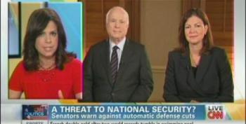 McCain And Ayotte Fearmonger Over 'Devastating' Military Spending Cuts