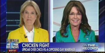 Palin: Chick-Fil-A Boycott 'Has A Chilling Effect On Our 1st Amendment Rights'
