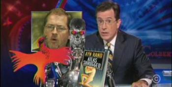Stephen Colbert Sacrifices Baby To Appease Grover Norquist