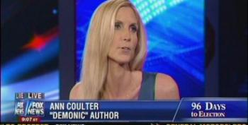 Coulter Calls John Kerry A 'Gigolo'  Whose Tax Returns Don't Matter Any More Than Seamus The Dog's