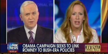 Fox Panel Pretends Mitt Romney Won't Be George W. Bush On Steroids