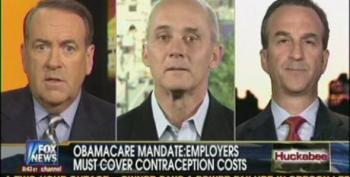 Huckabee Spreads Lie That Insurance Mandate Pays For Abortion