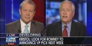 Bill Kristol Predicts Romney Will Pick Rubio, Ryan Or Christie For Veep