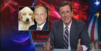 Colbert Skewers Steve King For Defense Of Dogfighting