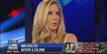 Ann Coulter Melts Down On Hannity's Show Over RomneyCare