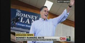 Romney To Announce Running Mate In VA Saturday