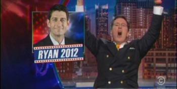 Colbert Has His Celebration Of Ryan 2012 Cut Short