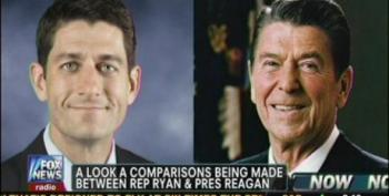 Fox Fawns Over Paul Ryan, Compares Him To St. Reagan