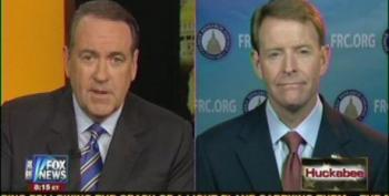Huckabee: FRC Can't Be A Hate Group Because Security Guard Didn't Kill Shooter