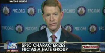 Huckabee Helps Perkins Attack The SPLC For Hate Group Designation