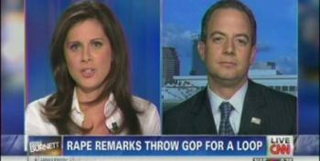 Priebus Tries To Put Distance Between Akin And Ryan's Views On Abortion