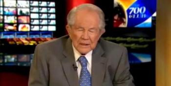 Pat Robertson's CBN Suggests God Moved Hurricane To Protect Republicans