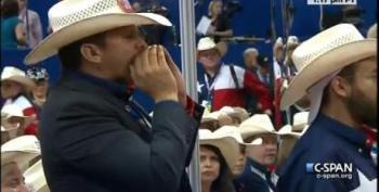 Ron Paul Delegates Disrupt GOP Convention