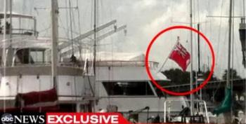 Romney Party Yacht Flies Cayman Islands Flag In Tampa