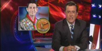 Colbert Slams Media For Giving Ryan's Lying Convention Speech A Pass