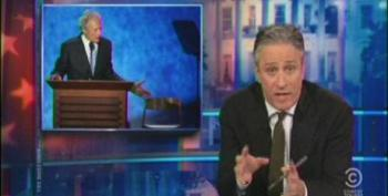 Jon Stewart Praises Eastwood's 'Fist Full Of Awesome' Before Ripping Into Romney's RNC Speech