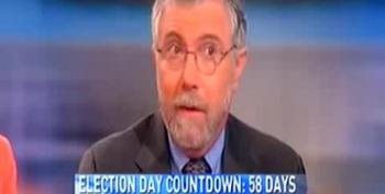 Krugman: Republican Base Is 'Elderly White People Arguing With Empty Chairs'