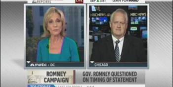Andrea Mitchell Calls Out Romney Adviser Williamson: 'Facts Matter'