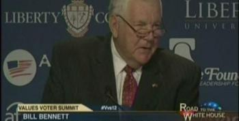 Bill Bennett Attacks The Press For Calling Out Romney's Lies About Libya Attacks