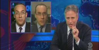Jon Stewart Skewers Hannity And Senor For Their Hypocrisy On Promoting Democracy