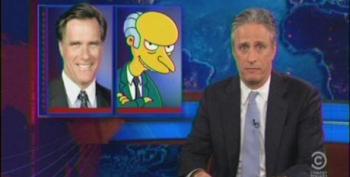 Jon Stewart Takes Apart Mitt Romney's '47 Percent' Comments