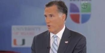 Mitt's Unfortunate Reference To 'Illegal Aliens' On Univision