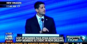 AARP Repeatedly Boos Ryan For Vowing To Repeal 'Obamacare'
