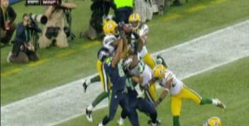 Seahawks Beat Packers On Last-Second Touchdown Awarded By Referees