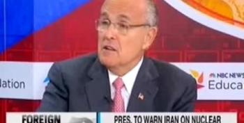Giuliani: 'Military Strike' Are The 'Magic Words' To Stop Iran