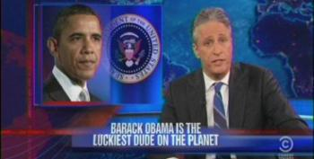 Daily Show: Barack Obama Is The Luckiest Dude On The Planet