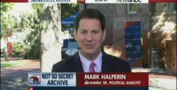 Halperin: Drudge Gives Republicans Opportunity To Dominate A News Cycle