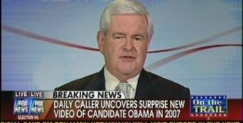 Van Susteren Brings In Gingrich For More Race Baiting Over 2007 Obama Video