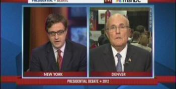 Giuliani Has Trouble Defending Right Wing Memes With MSNBC Hosts