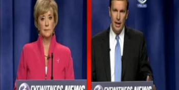 Linda McMahon's Blank Stare