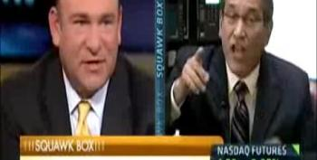 Santelli Goes Berserk When Asked To Defend Jobs Report Conspiracy Theory