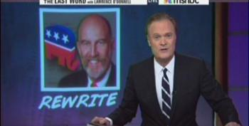Lawrence O'Donnell: Bat-Crap Crazy Is The Republican Brand