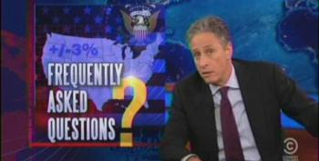 The Daily Show On Those Divergent, Useless And Accurate Polls