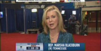 Marsha Blackburn Pretends GOP Wants Health Care Coverage For All, Punts On Personhood Bills
