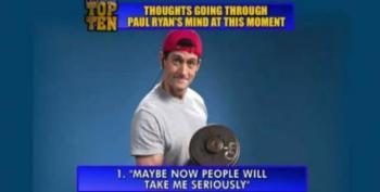 Letterman Mocks Paul Ryan's Workout Photos In Top Ten List