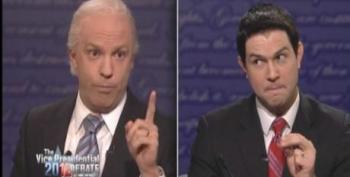 SNL Spoofs The VP Debate