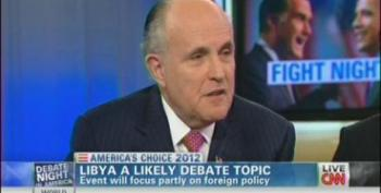 Giuliani: Romney 'Should Be Exploiting' Libya Attack For Political Gain