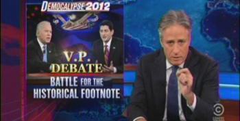 Jon Stewart Takes Down Fox's Coverage Of The VP Debate