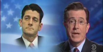 Colbert Mocks Paul Ryan's Phony Soup Kitchen Photo Op
